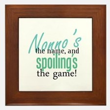 Nonno's the Name! Framed Tile