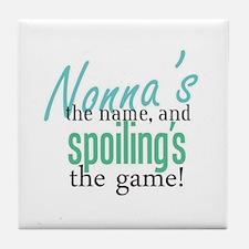 Nonna's the Name! Tile Coaster