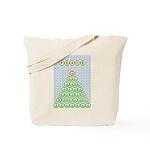 Peace Christmas Tree Tote Bag