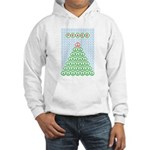 Peace Christmas Tree Hooded Sweatshirt