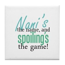 Nani's the Name! Tile Coaster