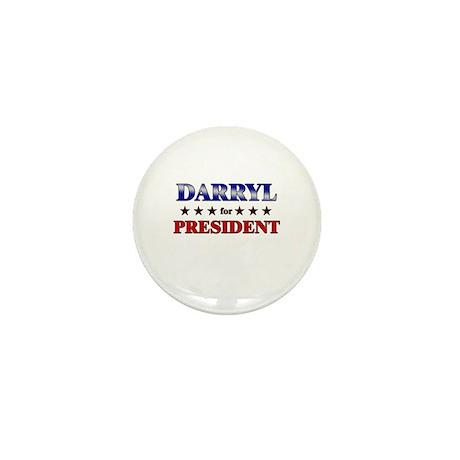 DARRYL for president Mini Button (10 pack)