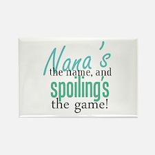 Nana's the Name! Rectangle Magnet (100 pack)