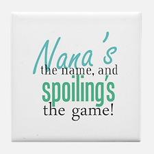 Nana's the Name! Tile Coaster