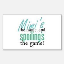 Mimi's the Name! Rectangle Decal