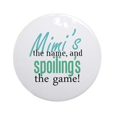 Mimi's the Name! Ornament (Round)