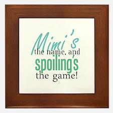 Mimi's the Name! Framed Tile