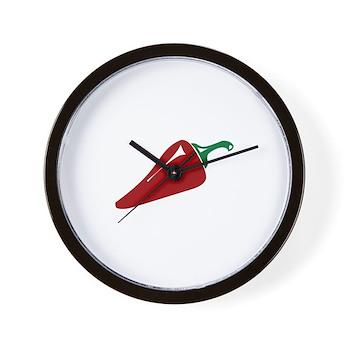 Hot Pepper Wall Clock