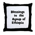 Blessings  to  the  Ayoup of  Throw Pillow