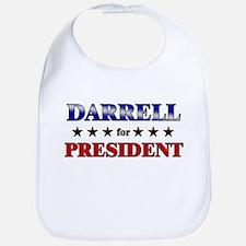 DARRELL for president Bib