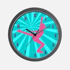 Figure Skating Wall Clock