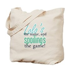 Lolo's the Name! Tote Bag