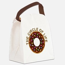 Cute Donuts Canvas Lunch Bag