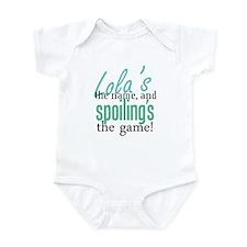 Lola's the Name! Infant Bodysuit