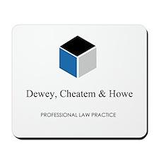 Dewey, Cheatem & Howe Mousepad