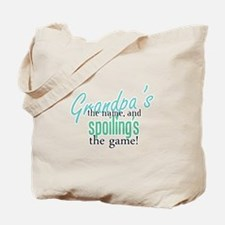 Grandpa's the Name! Tote Bag