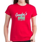 Grandpa's the Name! Women's Dark T-Shirt