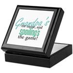 Grandpa's the Name! Keepsake Box