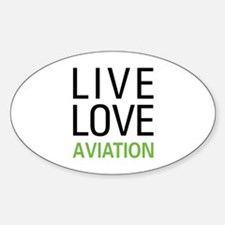 Live Love Aviation Decal