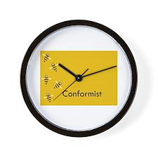 Conformist Wall Clock