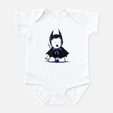 Batdog Westie Infant Bodysuit