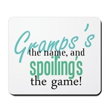 Gramps's the Name! Mousepad