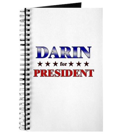 DARIN for president Journal