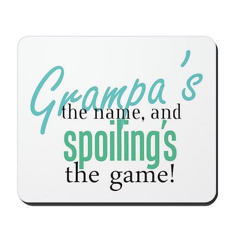 Grampa's the Name! Mousepad