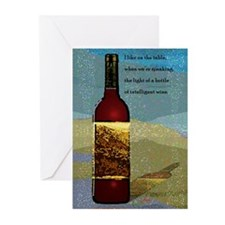 Ode To Wine Greeting Cards (Pk of 10)