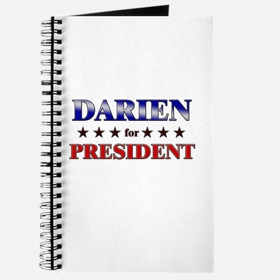 DARIEN for president Journal