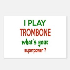 I play Trombone What's yo Postcards (Package of 8)
