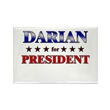 DARIAN for president Rectangle Magnet