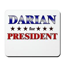 DARIAN for president Mousepad