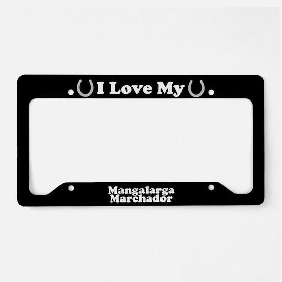 I Love My Mangalarga Marchador Horse License Plate