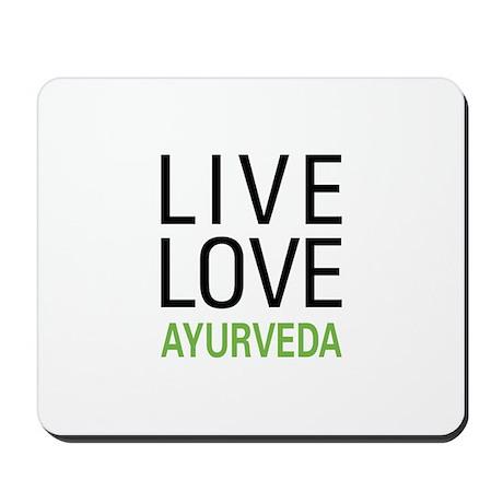Live Love Ayurveda Mousepad