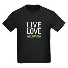 Live Love Ayurveda T