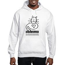 Feline Network Logo - BW Hoodie