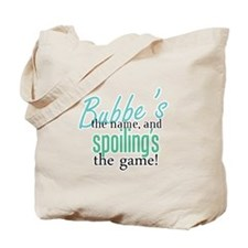 Bubbe's the Name! Tote Bag