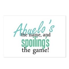 Abuelo's the Name! Postcards (Package of 8)