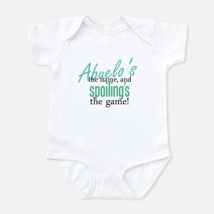 Abuelo's the Name! Infant Bodysuit