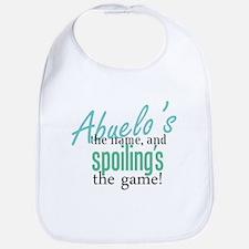 Abuelo's the Name! Bib