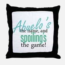 Abuelo's the Name! Throw Pillow