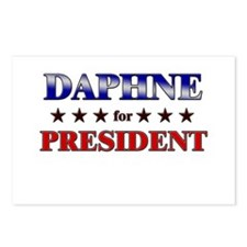 DAPHNE for president Postcards (Package of 8)