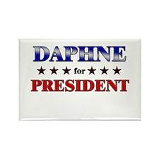 DAPHNE for president Rectangle Magnet