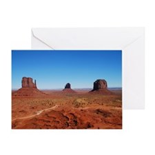 Monument Valley Entrance Greeting Card