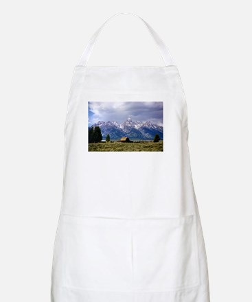 Grand Tetons National Park BBQ Apron