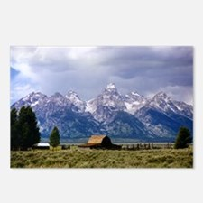 Grand Tetons National Park Postcards (Package of 8