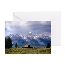 Grand Tetons National Park Greeting Card (Pk of 10
