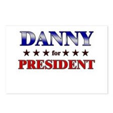 DANNY for president Postcards (Package of 8)