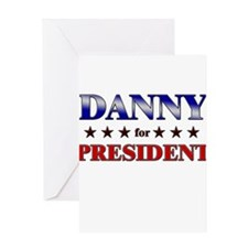 DANNY for president Greeting Card